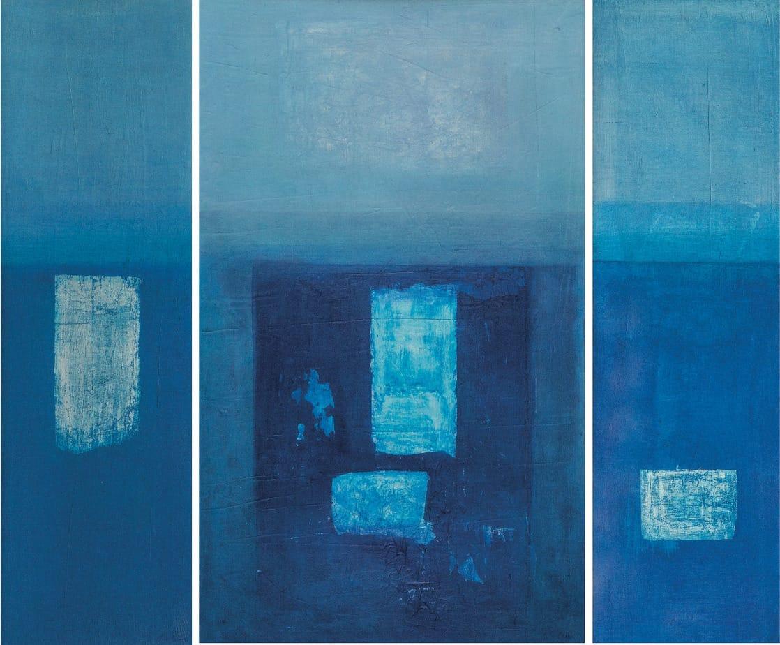 Transiti nel blu - Trittico Image